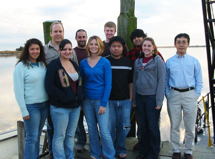 2008 Aquaculture Class Students