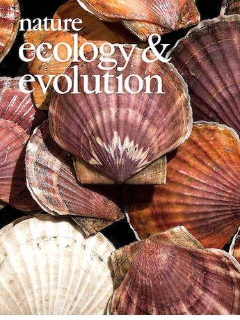 Nature Ecology and Evolution May 2017 cover